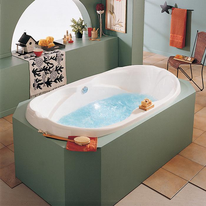 Alcove Bathtub Marguerite Podium Nova Bath