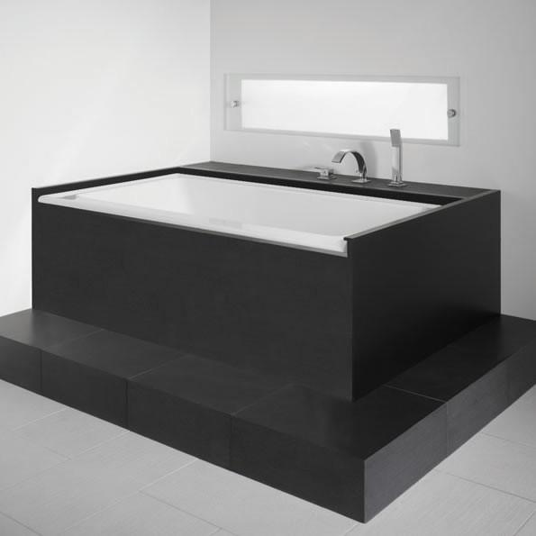 Neptune Bathtub Zora Alcove Without Skirt Nova Bath